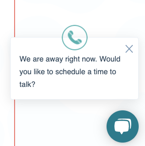 CMO chat widget unclicked