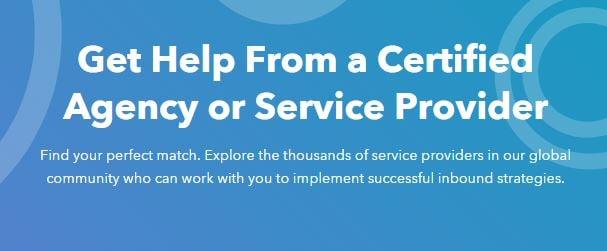 hubspot agency pricing_get help