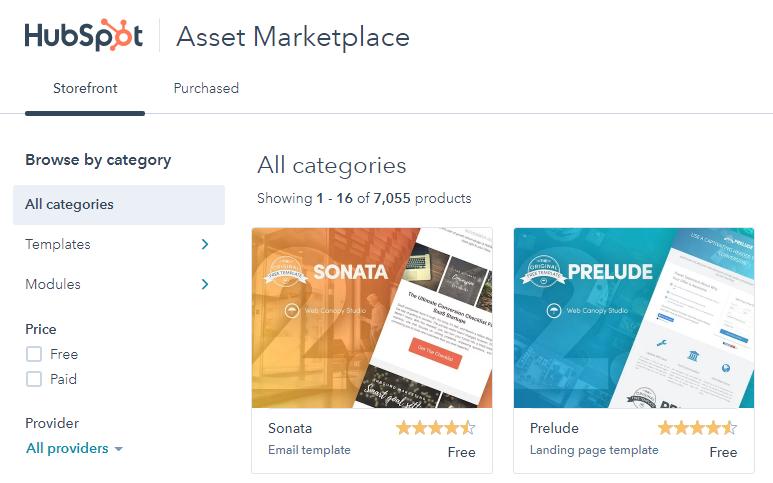 Asset Marketplace_hubspot cms
