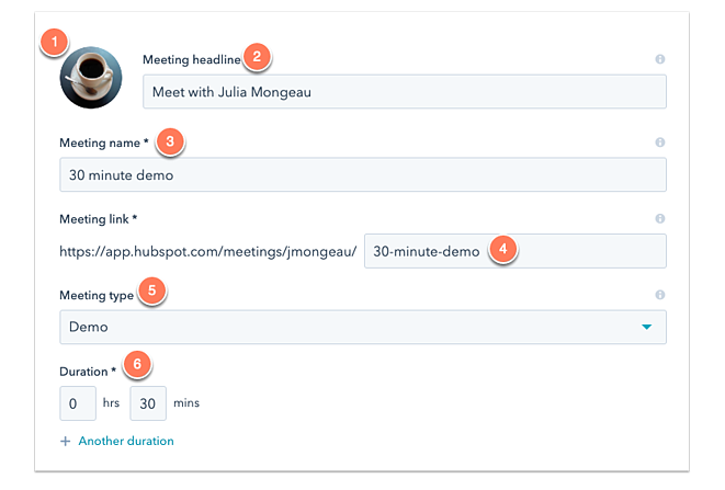 Meetings Link_Hubspot CRM