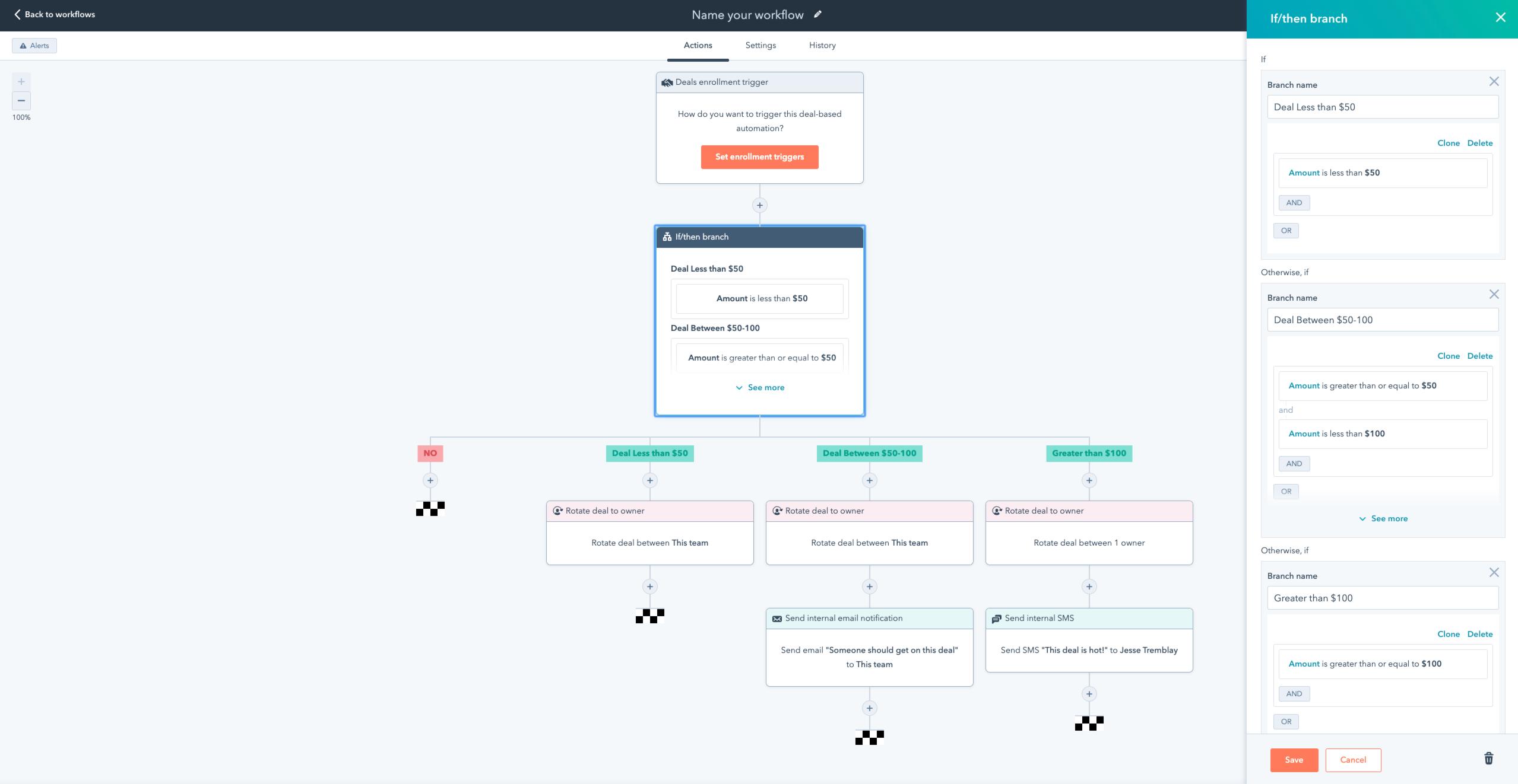 Workflow Branch_Hubspot Product Updates