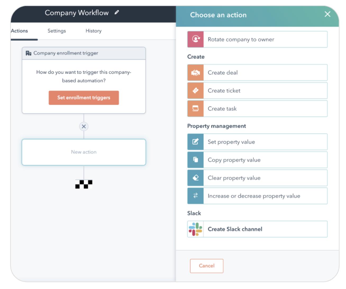 Slack Integration for Account-Based Collaboration_hubspot product updates