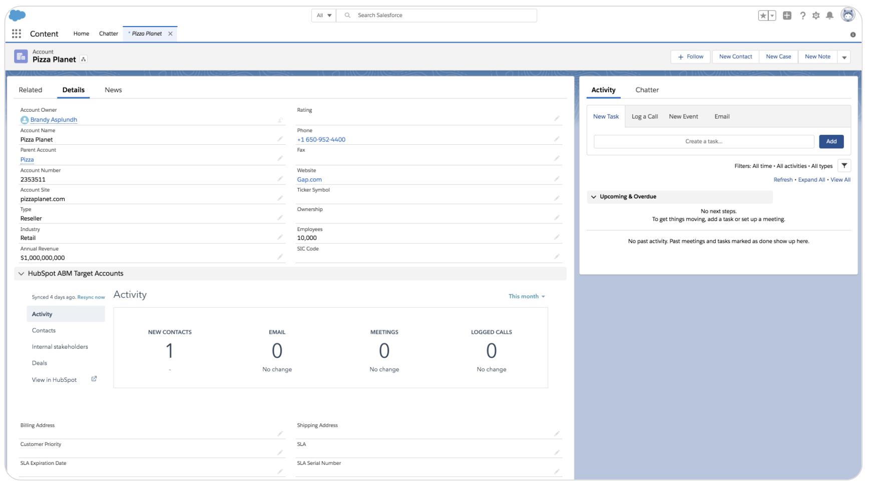 salesforce integration_hubspot product updates