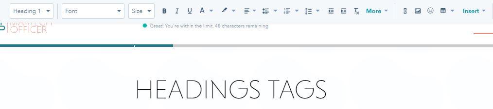 Heading Tag_OnPage SEO