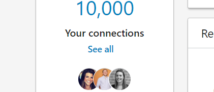 10k linkedin connections hubspot consultant