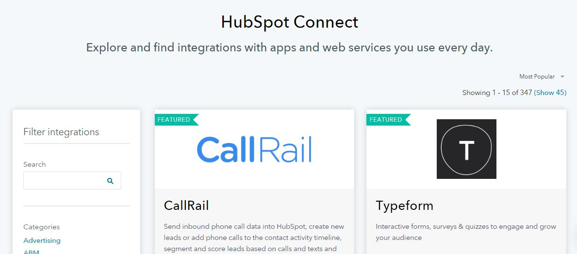 HubSpot CMS_Hubspot Connect_App Ecosystem