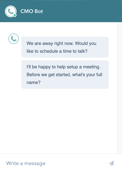 chatbots_CMO Bot