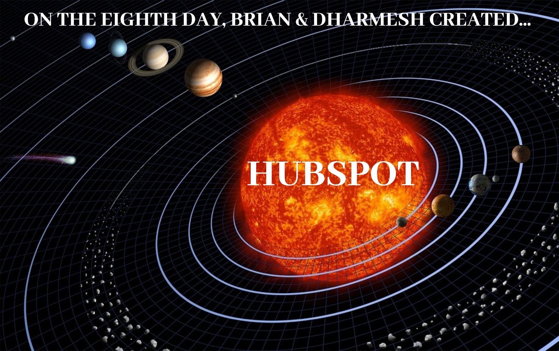 On the Eight Day, Brian Halligan Created HubSpot (1)