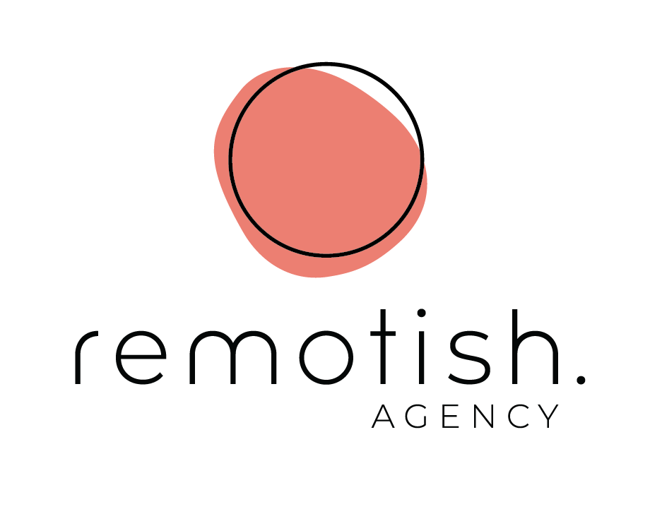 Remotish-logo-stacked-color