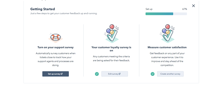 hubspot updates on customer feedback dashboard